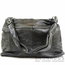 Ladies / Womens Soft Nappa Leather Casual / Evening Handbag / Shoulder Bag