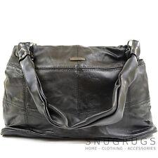 Ladies / Womens Soft Nappa Leather Casual / Evening Handbag / Shoulder Bag