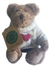 Boyds Bears Archive Collection Hartley Be Mine Heart Sweater 8.5 Inch Plush Bear
