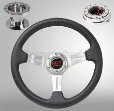 Chrome Quick Release Steering Wheel Combo Kit For Mazada 626 Miata Portege RX-7