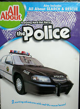 All About POLICE CARS /ALL ABOUT SEARCH AND RESCUE EDUCATIONAL DVD CHILDRENS NEW