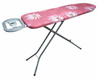 Folding Steel Frame Steam Ironing Board Laundry Clothes Care House Work