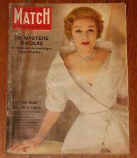 PARIS MATCH magazine #555 1959 Marlene Dietrich Joan Crawford Beatniks Kerouac