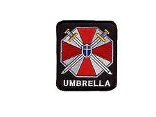 Resident Evil Umbrella ecusson brode umbrella logo resident evil umbrella patch