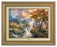 Thomas Kinkade - Disney's Bambi Canvas Classic (Gold Frame)