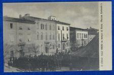 SANTA CROCE SULL'ARNO in tempo di Fiera   animata viaggiata 1912  f/p #20385