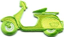 Motor scooter motorcycle cycle bike motorbike applique iron-on patch new S-367