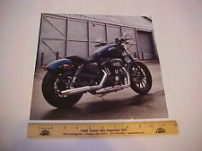 2012 Harley Davidson XL883N Iron HD factory calendar shot to frame or display