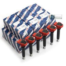 6Pcs BOSCH Ignition Coils Spark Plug for VW Touareg Audi A4 A5 A6 A8 Q7 Porsche