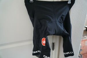 CASTELLI MENS BLACK ENDURANCE CYCLING SHORTS NEW W/TAGS