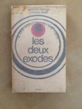 livres les deux exodes Jacques Derogy Edouard Saab 1968