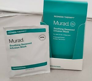 Murad Redness Therapy Soothing Seaweed Infusion Mask -15 Pieces - 0.81 oz ea NIB