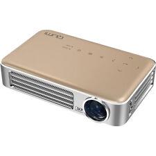 Vivitek Qumi Q6 800 Lumen WXGA 720p HD LED Wireless Pocket Projector - Gold