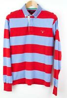 Gant Hombre Jersey Cárdigan Cuello Polo Camiseta TALLA S KZ604