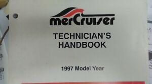 MERCURY SERVICE MANUAL #90-806534970 Tech Handbook