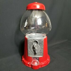 Vintage 1985 Carousel Bubble Gum Machine .25 Red No.88-J-019187 Tested