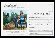 1964 Tractor,Traktor,Tracteur,Fight Fruit-growing Pests,Romania,special card (1)