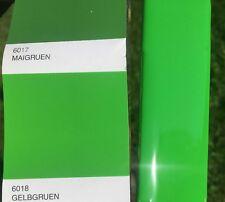 Peinture carrosserie: Vert Jaune RAL 6018 brillant direct + durcisseur + diluant