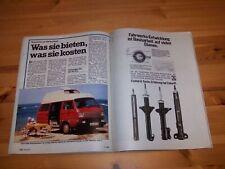 MOT 2902) Wohnmobilspezial! VW Bus T3 Weinsberg Terra, Westfalia Joker 1, West