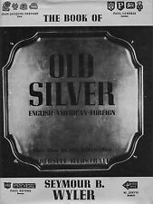 Antique Silver - American English Foreign - 20,000 Hallmarks / Reference Book