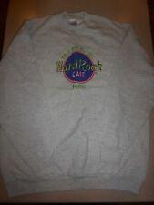 SAVE THE PLANET HARD ROCK CAFE PARIS Mens Sweatshirt Vintage sz XL