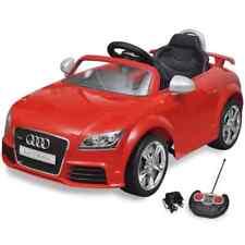 Voiture électrique pour enfant Audi TT RS Rouge/Blanc avec télécommande 2,5 km/h