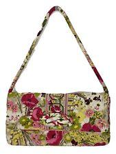 Vera Bradley Make Me Blush Knot Just a Clutch Versatile Floral Handbag