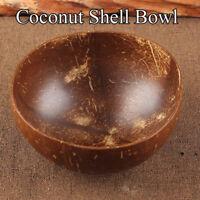 Vintage Home&Living Tableware Coconut Shell Bowls Food Storage Fruit Bowl