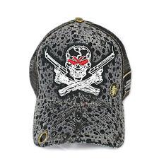Red Monkey Limited Edition Dead Shooter Skull Snap Back Cap Trucker Hat