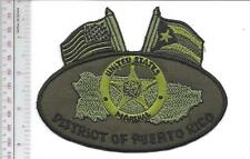 Us Marshals Service Usms Puerto Rico District Puerto Rico Agent Service Flag acu
