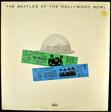 "THE BEATLES ""At The Hollywood Bowl"" LP Capitol 11638 Rock VG++"
