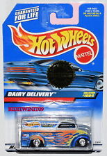 HOT WHEELS 1999 TRAILER EDITION DAIRY DELIVERY COLLECTOR #1004