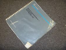 1978 1979 mercedes benz 280e 280ce 280se electrical wiring diagram manual