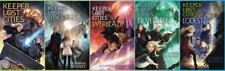 Shannon Messenger KEEPER OF THE LOST CITIES Children's PAPERBACK Series Set 1-5