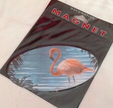 Flamingo Bird Magnet Car Auto Kitchen Fridge Locker Trailer Magnetic
