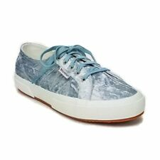 7787260caea Superga Womens 2750 Vellutoaiw Lightblue Fashion Shoes Size 7