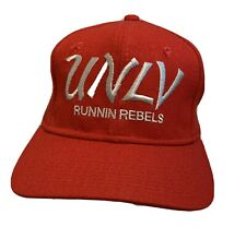 Vintage 1980s Unlv Runnin Rebels Snapback Hat Cap Sport Specialties Pro Wool