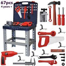 Toys for Boys Children Work Bench Tools Mechanic Set Construction Kit