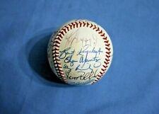 1990 Seattle Mariners team autographed baseball 19 nice signatures