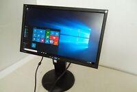"""ViewSonic VG2228WM 22"""" Wide LED Monitor w/Speakers HD 1080p DVI VGA USB VS12512"""