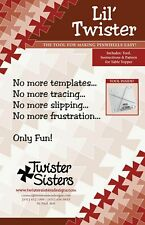 Twister Sisters - Lil Pinwheel Tool & Instructions