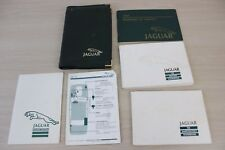 1988 Jaguar XJ6 Driver's Handbook Original Owners Manual Set & Green Case