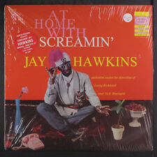 SCREAMIN' JAY HAWKINS: At Home With LP Sealed (Mono re, tear in shrink)