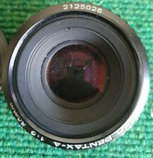 Lente Pentax un SMC 1:2 50mm