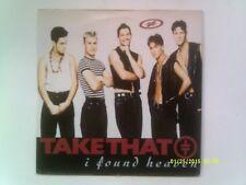 """TAKE THAT """"I FOUND HEAVEN"""" 7"""" SINGLE 1992 N/MINT"""