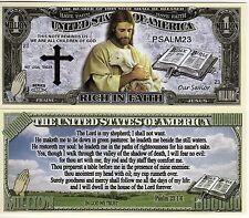 Psalm 23 1:6 Million Dollar Novelty Money