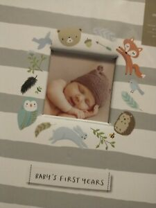 Baby Memory Book Baby's First Years Unisex C.R. Gibson Full Size Great Gift  boy