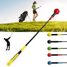 "47"" Golf Swing Stick Training Aid Trainer Strength Speed Practice Gesture Rods"