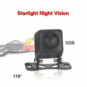 Fisheye170° Starlight Night Vision HD Color CCD Reversing Rear View Camera ES585