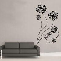 Flower Floral Wall Art Sticker Art Room Décor Vintage Shabby Chic (FL4)